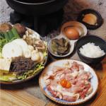 与作味鶏のすき焼き