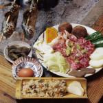 黒毛和牛と与作味鶏のバーベキュー